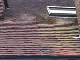 The completed repair. Where a few new tiles have been used they have been placed next to the dormer and so hidden from general view.